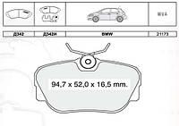 Тормозные колодки дисковые BMW 3-th E30