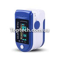 Пульсоксиметр Fingertip Pulse Oximeter LK-88 Білий