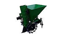 Картофелесажалка для мототрактора П-1Ц (зеленая)