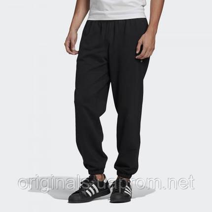 Штани трикотажные Adidas Originals Adicolor Premium GN3379 2021 черные, фото 2