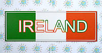 Табличка Ирландия