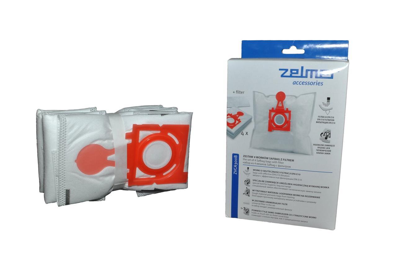 Набір мішків для пилососа Zelmer 49.4200 (ZVCA300B)