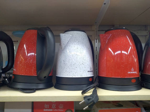 Електричний чайник Crownberg CB 2843 2 л пластик, фото 2
