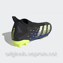 Футбольные бутсы adidas Predator Freak .3 Laceless FG. FY0617 2021, фото 3
