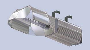 Светильник для теплиц ЖСП 01-400Вт цельный корпус