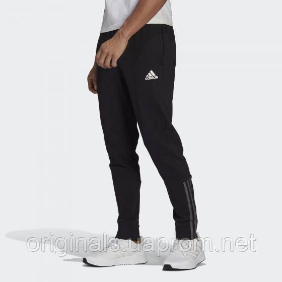 Спортивные брюки Adidas Essentials 3-Stripes GP8609 2021 черные мужские