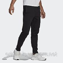 Спортивные брюки Adidas Essentials 3-Stripes GP8609 2021 черные мужские, фото 2