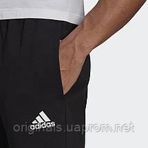 Спортивные брюки Adidas Essentials 3-Stripes GP8609 2021 черные мужские, фото 3