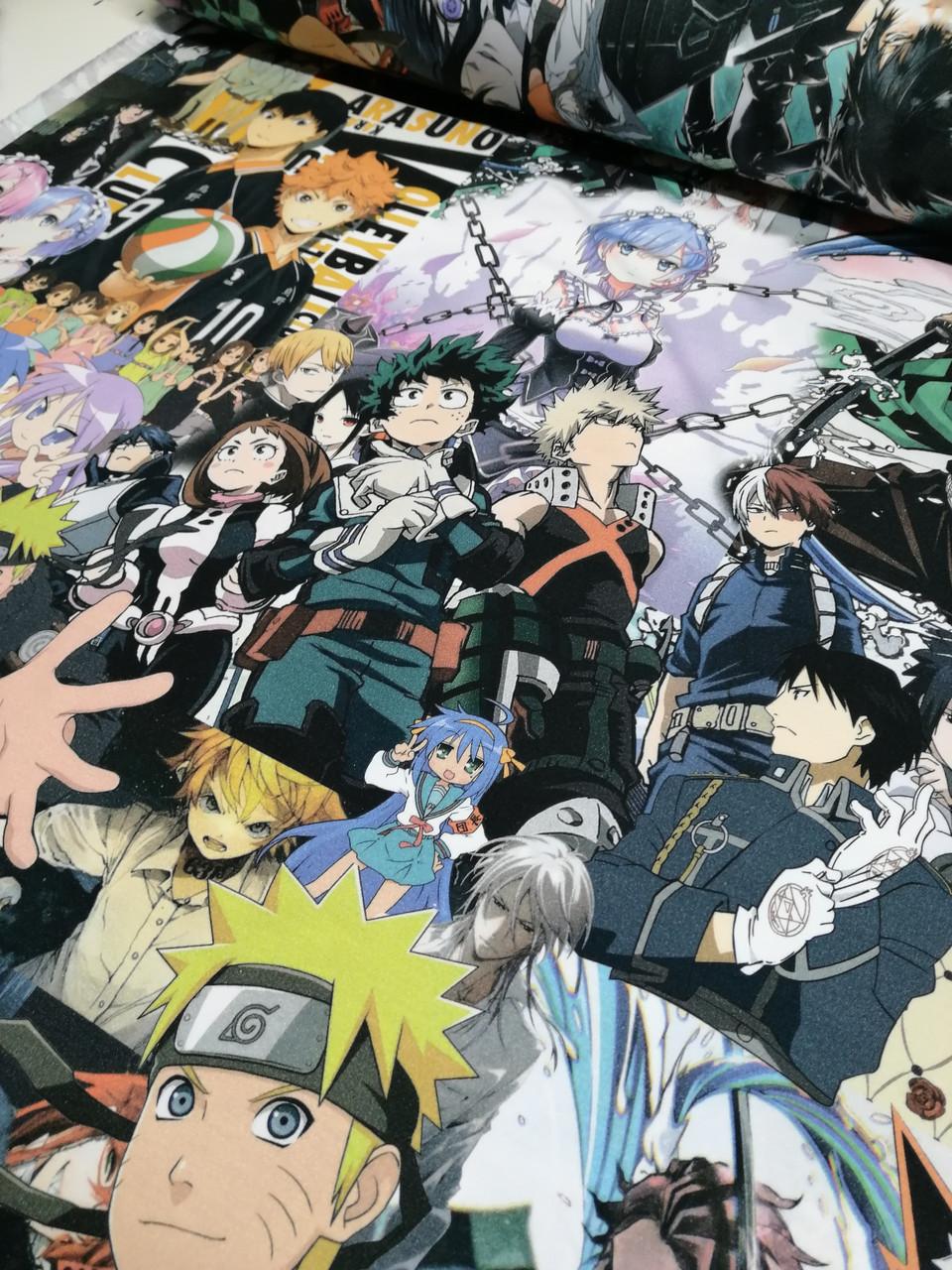 """Футер двунитка """"Anime"""" (діджитал). прихід 30.06"""