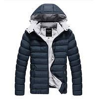 Мужские зимние куртки с капюшоном оптом z5261