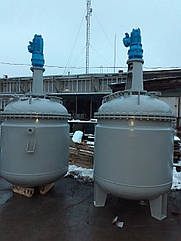 Реактор нержавеющий 2 м3.