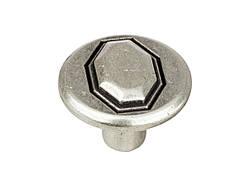 Ручка мебельная Ferretto 385.35-16 состаренное серебро