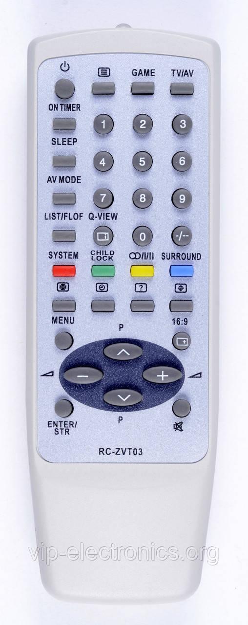 Пульт Aiwa  ZVT03 TXT (TV) як оригінал