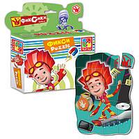 Пазлы магнитные Фиксики VT1504-27 Vladi Toys, 20 деталей