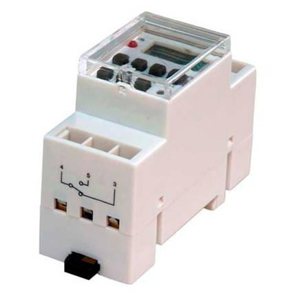 Электронный таймер на DIN-рейку FERON TM41 16A недельный Код.58520, фото 2