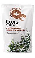 Соль для ванн Домашний Доктор с экстрактом можжевельника - 500 г.
