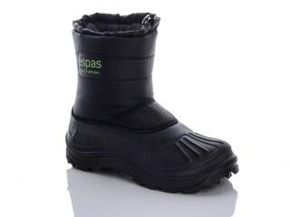 Чоловічі чоботи з піни Selena-053-чорний