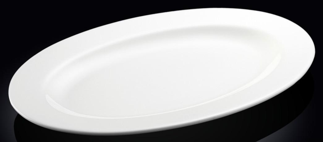 Блюдо Wilmax овальное с полями 36 см. WL-992026