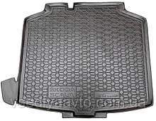 Коврик в багажник Skoda Scala с 2019- (AVTO-GUMM) пластик+резина