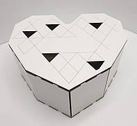 Коробка для подарков в форме сердца