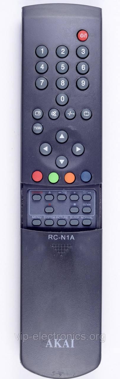 Пульт Akai  RC-N1A (TV.VCR) з ТХТ як оригінал