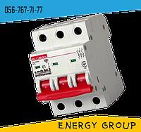Автоматический выключатель трехполюсный E.next 16А, 25А, 40А, 63А stand