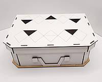 Коробка для подарков в форме чемодана