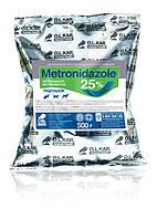 Метронидазол 25% порошок 500г O.L.KAR.