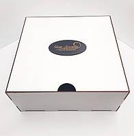 Коробка для подарков белая ДВП 35х35х15см