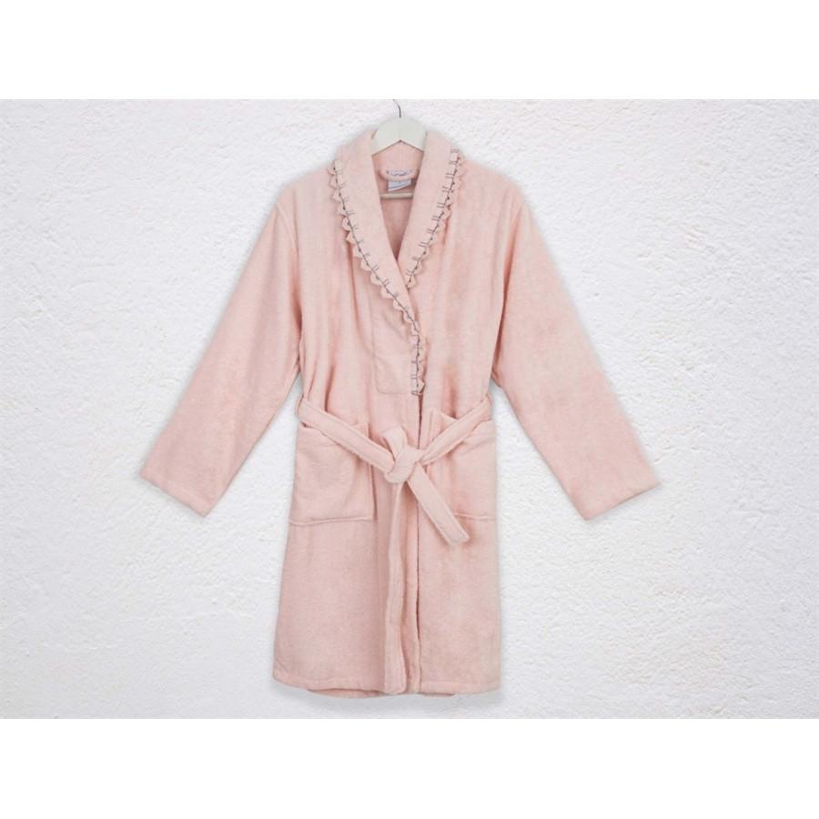 Халат махровый Irya - Becca pembe розовый L/XL