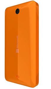 Задняя панель корпуса (крышка) для Microsoft 430 Lumia (Оранжевая)