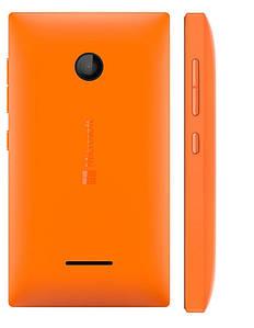 Задняя панель корпуса (крышка) для Microsoft 435 Lumia 532 (Оранжевая)