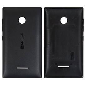 Задняя панель корпуса (крышка) для Microsoft 435 Lumia 532 (Черная)