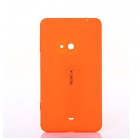 Задняя панель корпуса (крышка) для Microsoft 535 Lumia Dual Sim (Оранжевая)