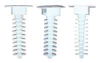 Держатель кабельной стяжки (100 шт.) белые LXL