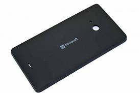 Задняя панель корпуса (крышка) для Microsoft 540 Lumia Dual Sim (Черная)