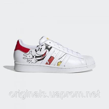 Женские кроссовки Adidas Superstar Disney W GW2248 2021, фото 2
