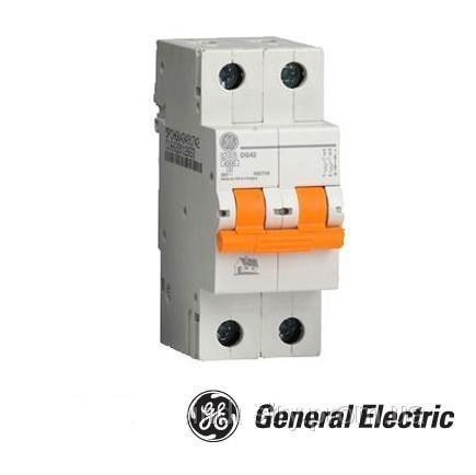 Автоматический выключатель General Electric DG 62 C20 6kA 2-х полюсный 20А (Венгрия)