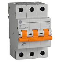 Автоматический выключатель DG 63 C20 6kA 3-х полюсный 20А General Electric (Венгрия)