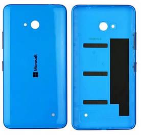 Оригинальная задняя панель корпуса (крышка) для Microsoft 640 Lumia (RM-1077) (Голубая)