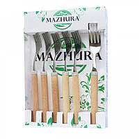 Набор вилок столовых Mazhura Beech Wood MZ-505663 6 шт