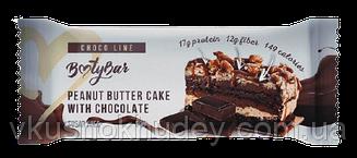 Протеиновый батончик Bootybar Choco Line Арахисовый Торт с Шоколадом (50 грамм)