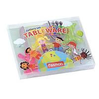 Набор детских столовых приборов Fissman CY-3002-4 4 предмета