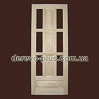 Двері з масиву дерева 80см (під скло) s_0480