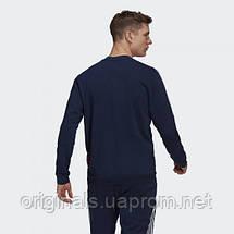 Свитшот спортивный Арсенал Адидас CNY GK9401 2021мужской синий, фото 2