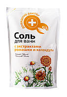 Соль для ванн Домашний Доктор с экстрактами ромашки и календулы - 500 г.
