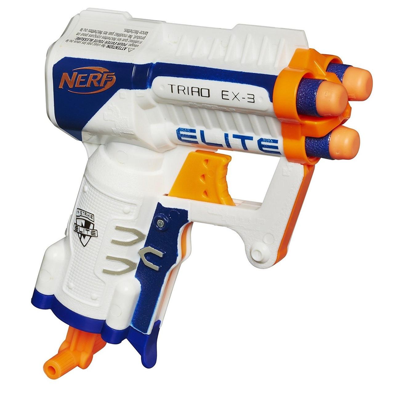 Бластер Nerf Elite Triad EX-3 M65-283096