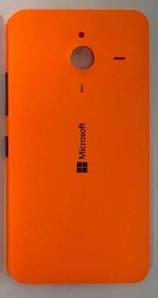 Оригинальная задняя панель корпуса (крышка) для Microsoft 640 XL Lumia (Оранжевая)