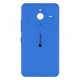 Оригинальная задняя панель корпуса (крышка) для  Microsoft 640 XL Lumia (Синяя)