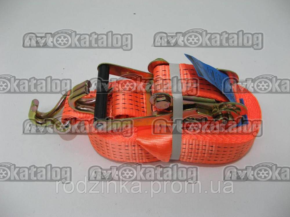 Стяжка вантажу 5т 50 мм х 12 м метал. ручка ДК